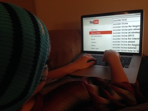 Kid Searching YouTube