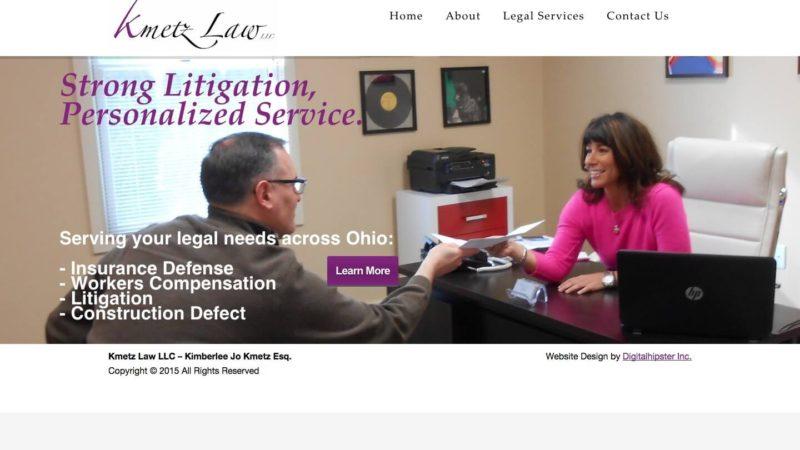 Attorney Web Design – Individual