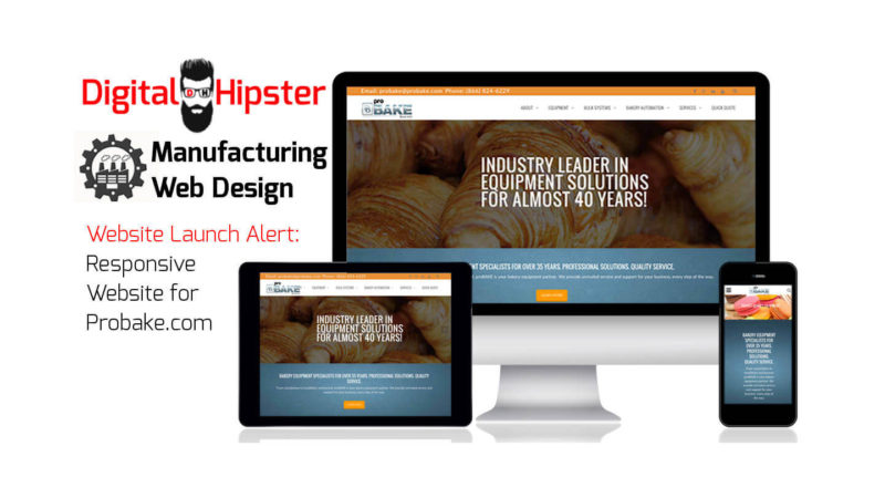 Food Industry Web Design