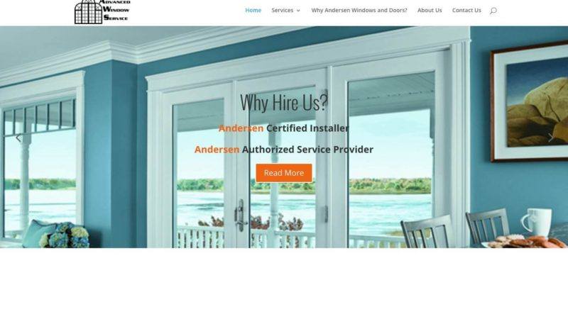 Window Installer Web Design