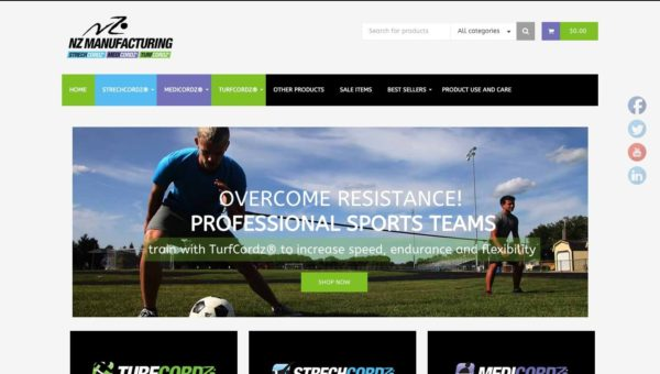eCommerce-sports-manufacturing