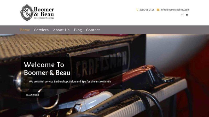 Salon Web Design & Photography
