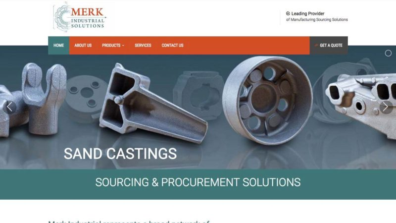 Industrial Manufacturing Web Design