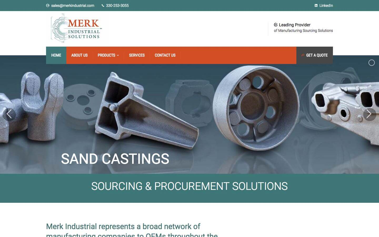Industrial manufacturing web design digitalhipster inc for Product design inc