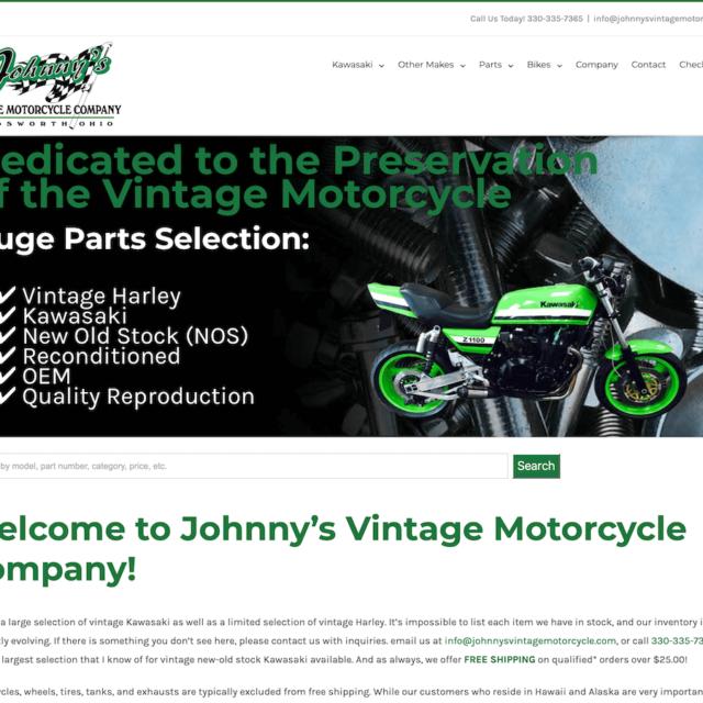 Ecommerce Development Motorcycle