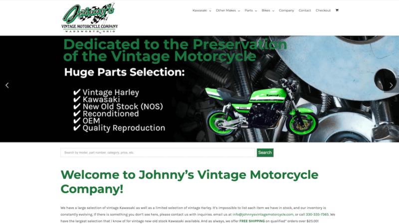 eCommerce Development – Motorcycle Parts