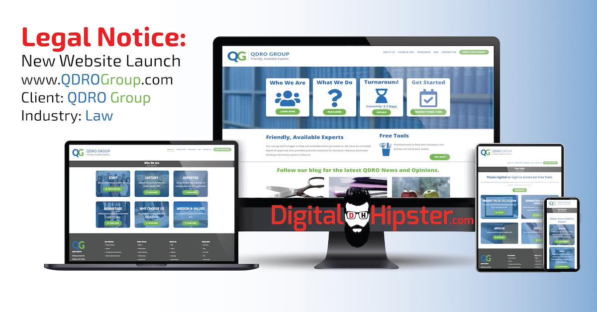 Legal Services Web Design