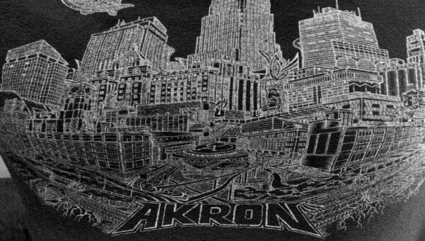 Akron-Ohio-T-Shirt